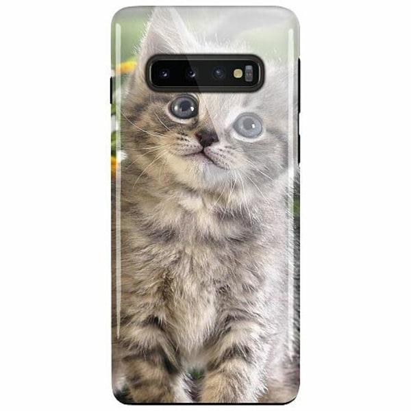 Samsung Galaxy S10 Plus LUX Duo Case (Glansig)  Cat