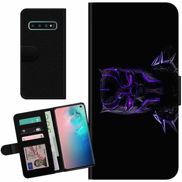 Samsung Galaxy S10 Billigt Fodral Black Panther
