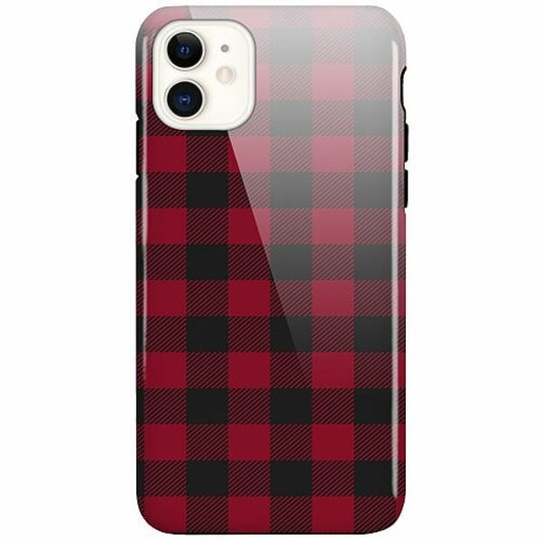 Apple iPhone 11 LUX Duo Case (Glansig)  Checkered Flannel