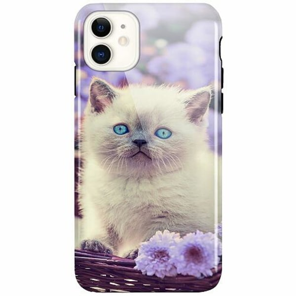 Apple iPhone 11 LUX Duo Case (Glansig)  Cute Kitten