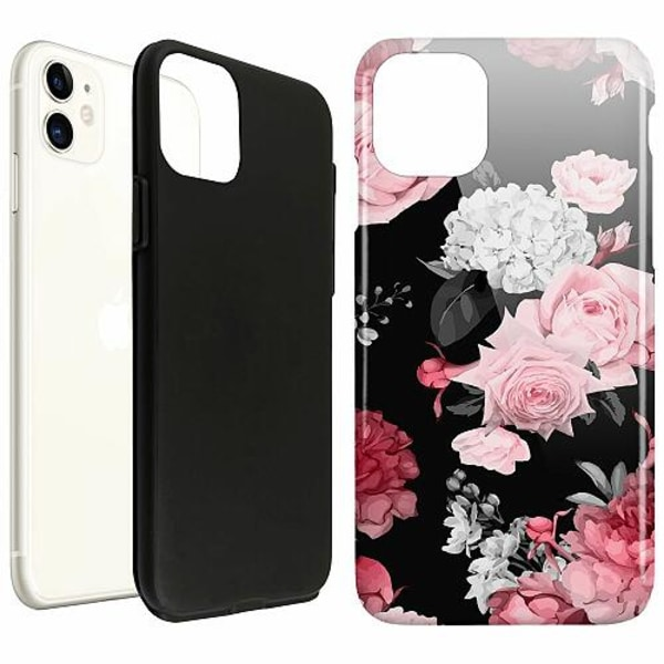 Apple iPhone 11 LUX Duo Case (Glansig)  Floral Bloom