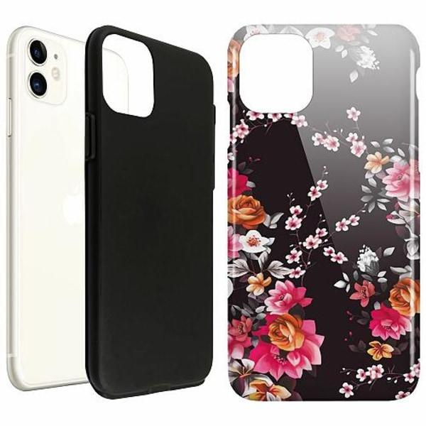 Apple iPhone 11 LUX Duo Case (Glansig)  Flower Splash