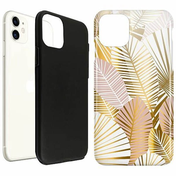 Apple iPhone 11 LUX Duo Case (Glansig)  Gold