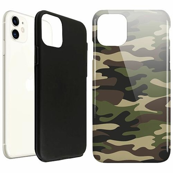 Apple iPhone 11 LUX Duo Case (Glansig)  Military