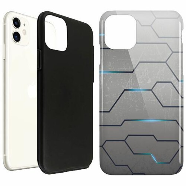 Apple iPhone 11 LUX Duo Case (Glansig)  Mönster