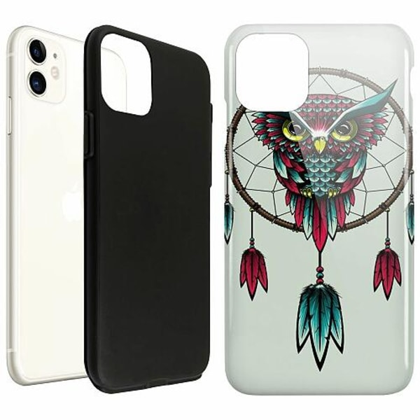 Apple iPhone 12 LUX Duo Case (Glansig)  Owl