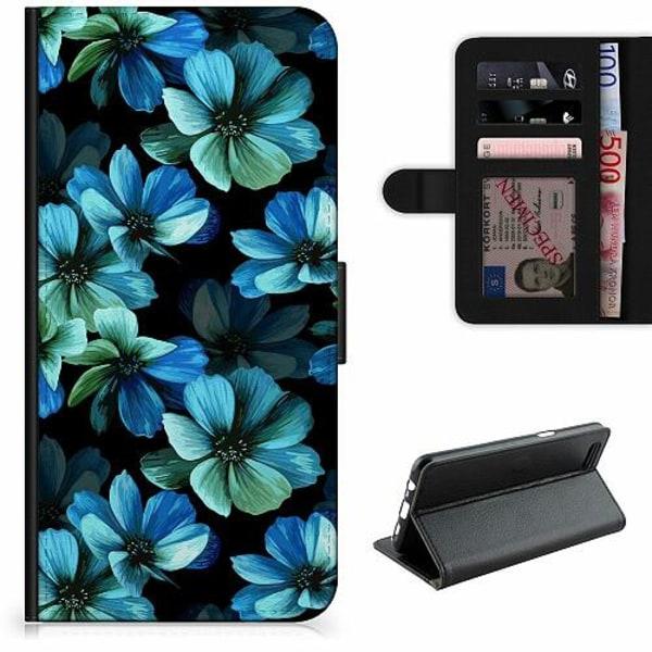 Xiaomi Mi 10 Lite Lyxigt Fodral Blommor