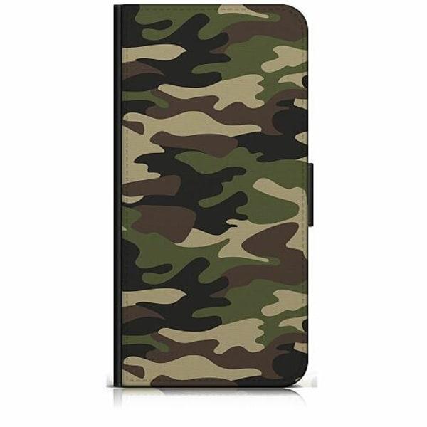 Samsung Galaxy S10e Plånboksfodral Militär