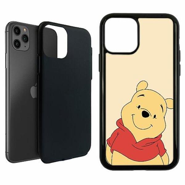 Apple iPhone 11 Pro Duo Case Svart Nalle Puh