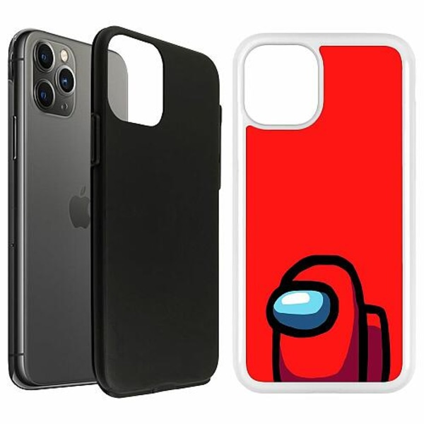 Apple iPhone 11 Pro Duo Case Vit Among Us