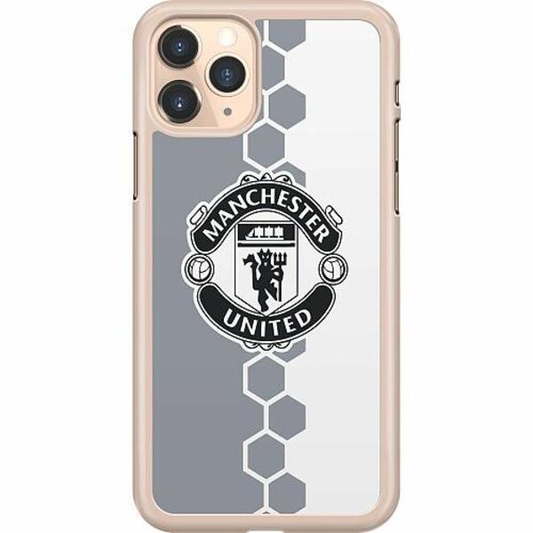 Apple iPhone 11 Pro Hard Case (Transparent) Manchester United FC