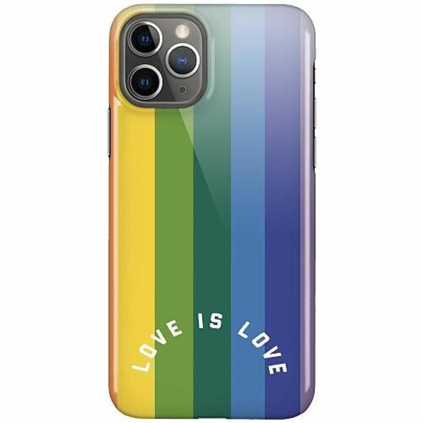 Apple iPhone 11 Pro LUX Mobilskal (Glansig) Love is Love - Pride