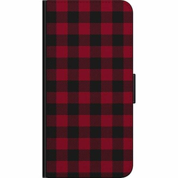 Apple iPhone XS Max Billigt Fodral Checkered Flannel