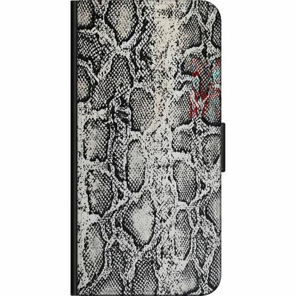 Apple iPhone XS Max Billigt Fodral Snake on Grey