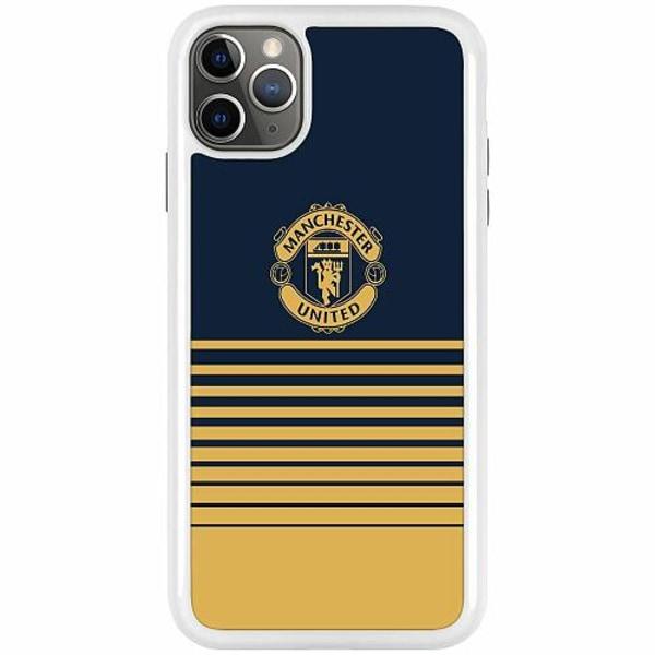 Apple iPhone 11 Pro Max Duo Case Vit Manchester United FC
