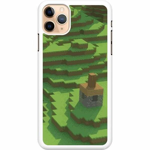 Apple iPhone 11 Pro Max Hard Case (Vit) MineCraft