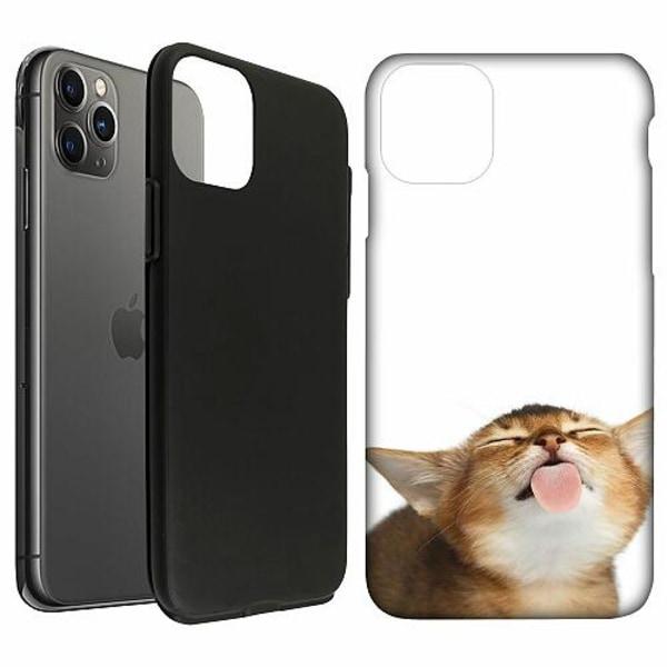 Apple iPhone 11 Pro Max LUX Duo Case (Matt) Cat Keeps You Clean