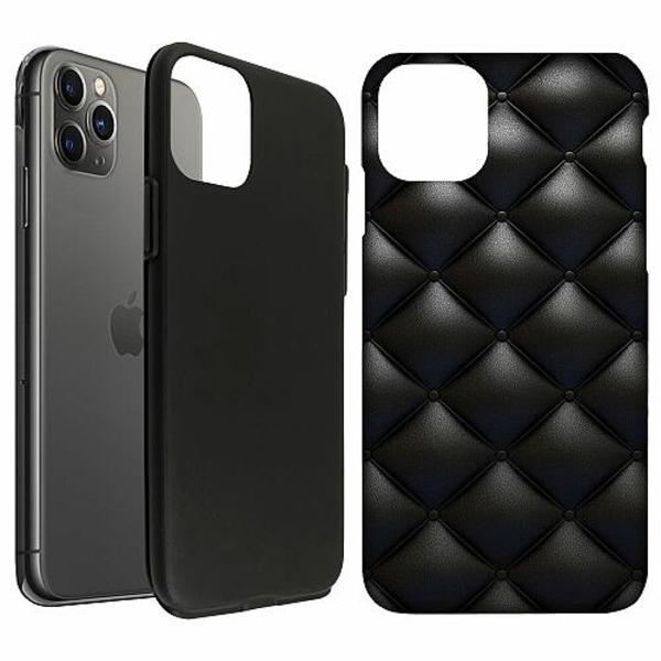 Apple iPhone 11 Pro Max LUX Duo Case (Matt) Leather Black