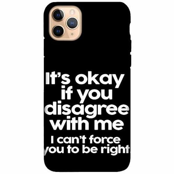 Apple iPhone 11 Pro Max LUX Duo Case (Matt) Text