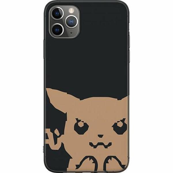 Apple iPhone 11 Pro Max Mjukt skal - Pixel art Pokémon
