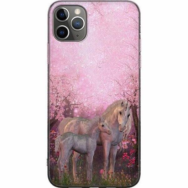 Apple iPhone 11 Pro Max Mjukt skal - Unicorn