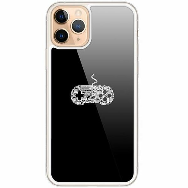 Apple iPhone 11 Pro Transparent Mobilskal med Glas Games
