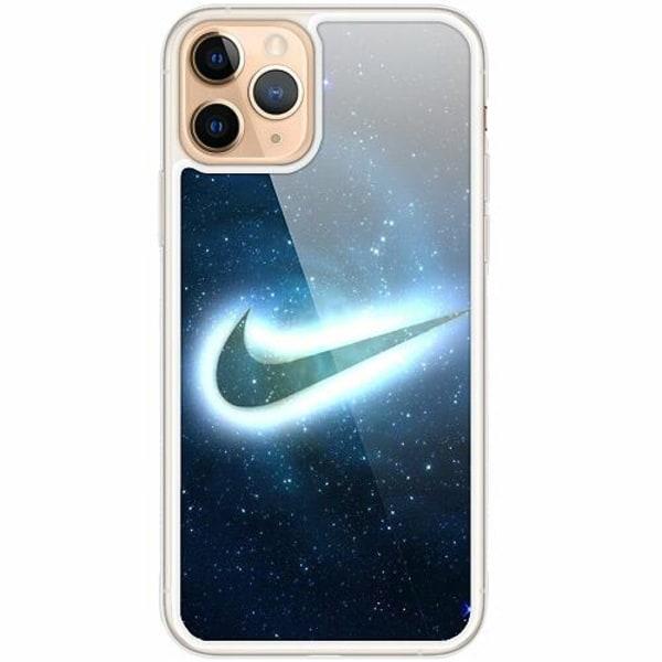 Apple iPhone 11 Pro Transparent Mobilskal med Glas Nike