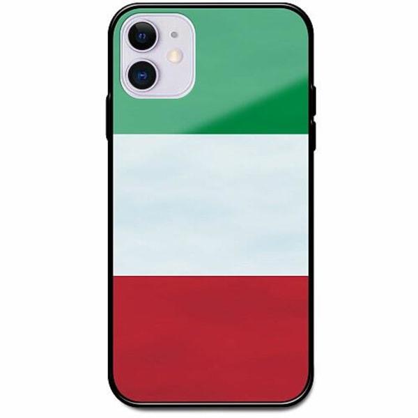 Apple iPhone 11 Svart Mobilskal med Glas Italien / Italy