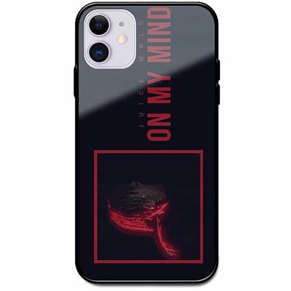 Apple iPhone 12 Svart Mobilskal med Glas Juice WRLD