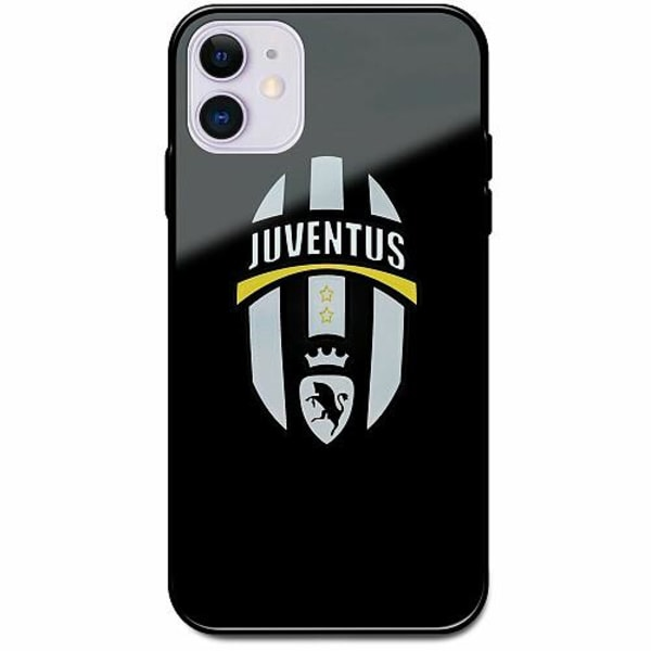 Apple iPhone 12 Svart Mobilskal med Glas Juventus FC