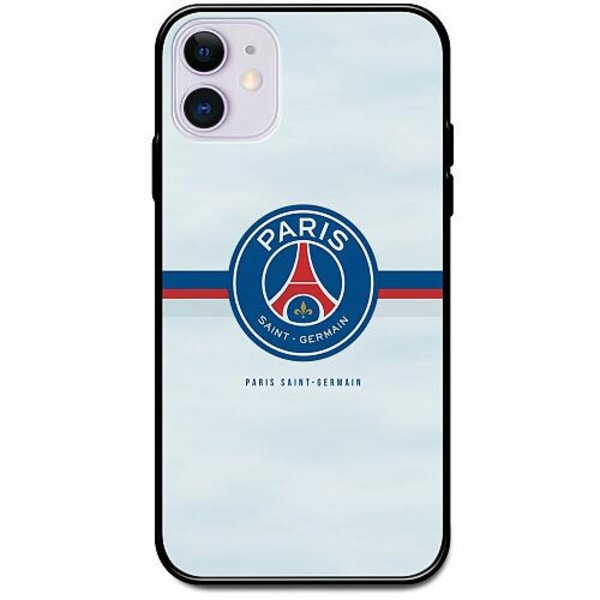 Apple iPhone 12 Svart Mobilskal med Glas Paris Saint-Germain FC