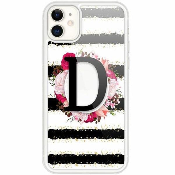 Apple iPhone 12 mini Transparent Mobilskal med Glas D