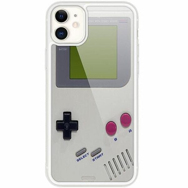 Apple iPhone 12 mini Transparent Mobilskal med Glas Game