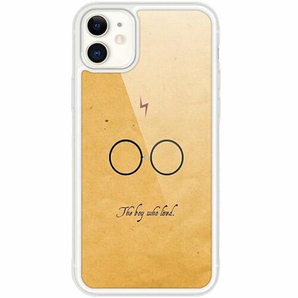 Apple iPhone 12 mini Transparent Mobilskal med Glas Harry Potter