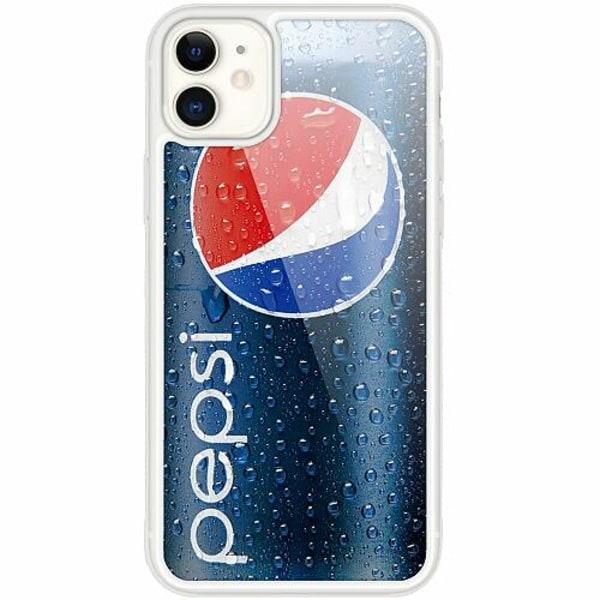 Apple iPhone 12 mini Transparent Mobilskal med Glas Pepsi