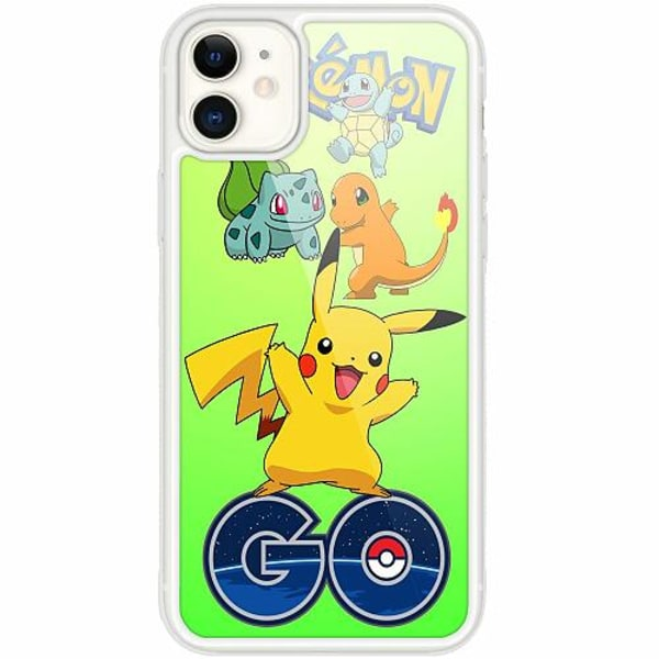 Apple iPhone 12 mini Transparent Mobilskal med Glas Pokemon