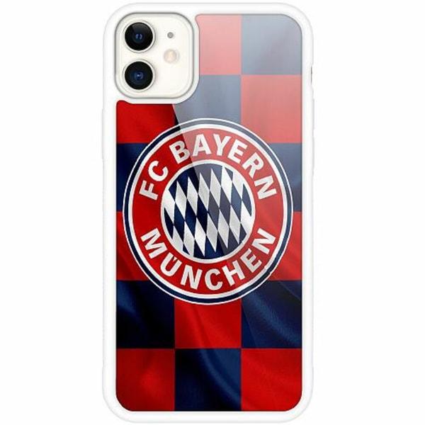 Apple iPhone 12 mini Vitt Mobilskal med Glas FC Bayern München
