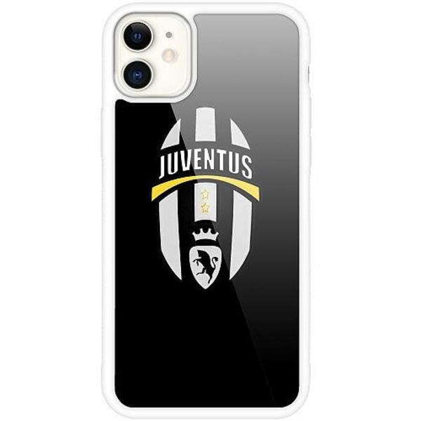 Apple iPhone 12 mini Vitt Mobilskal med Glas Juventus FC
