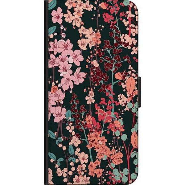 Apple iPhone 6 / 6S Fodralväska Blommor