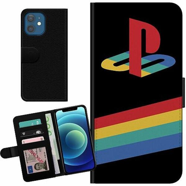 Apple iPhone 12 Billigt Fodral Playstation Retro