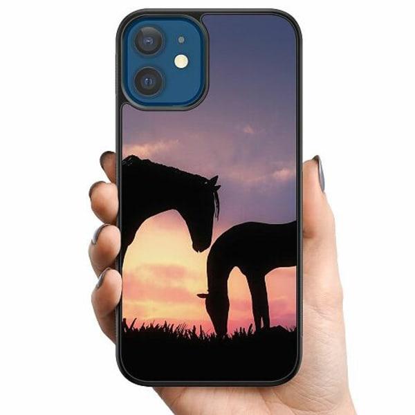 Apple iPhone 12 Billigt mobilskal - Häst / Horse