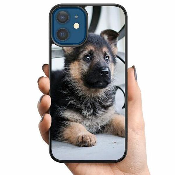 Apple iPhone 12 Billigt mobilskal - Schäfer Puppy