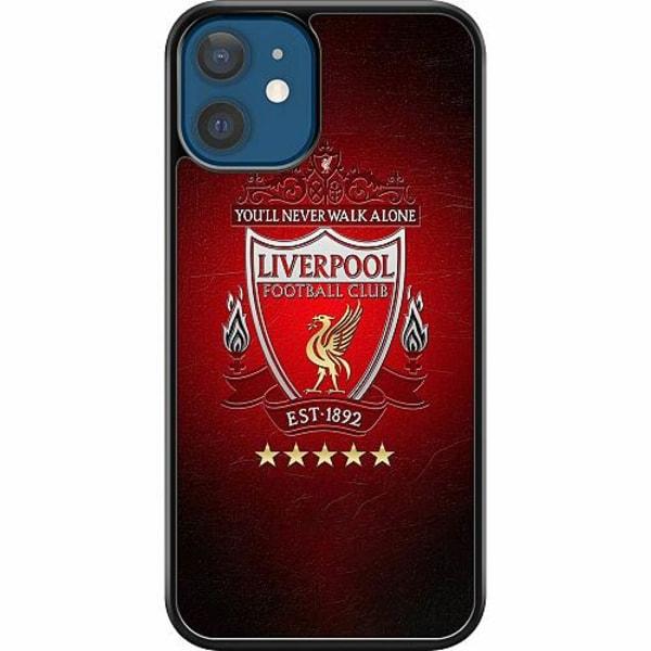 Apple iPhone 12 Hard Case (Svart) Liverpool