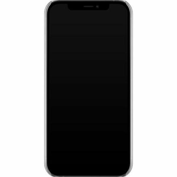 Apple iPhone 12 Hard Case (Transparent) Pride - Pansexual