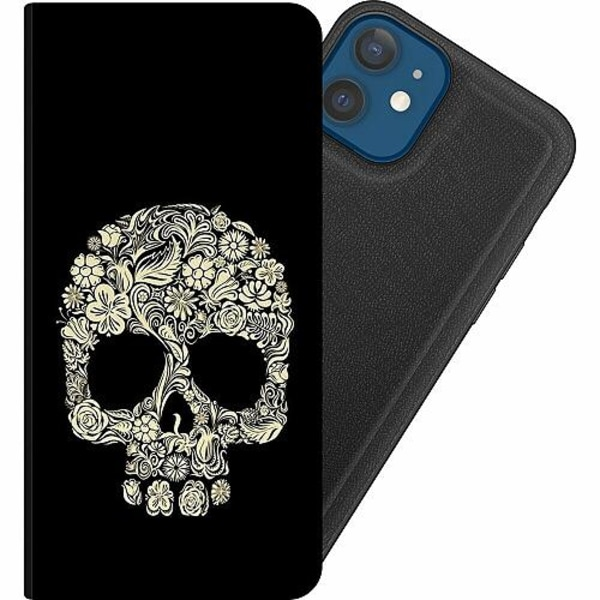 Apple iPhone 12 Magnetic Wallet Case Döskalle