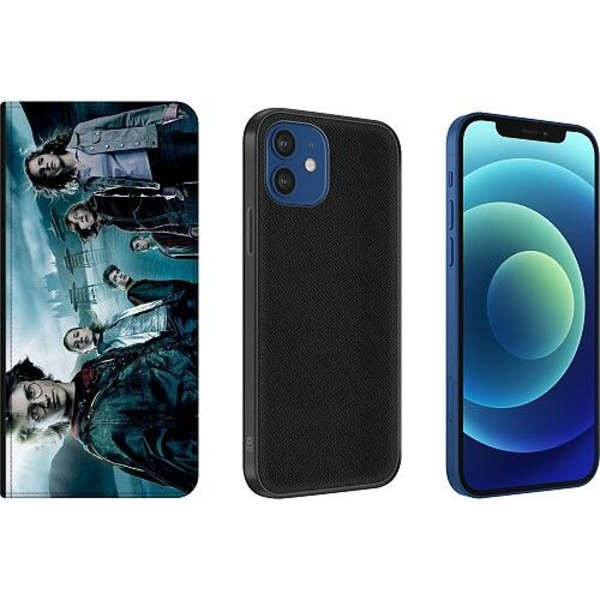 Apple iPhone 12 Magnetic Wallet Case Harry Potter