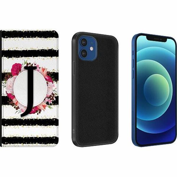 Apple iPhone 12 Magnetic Wallet Case J