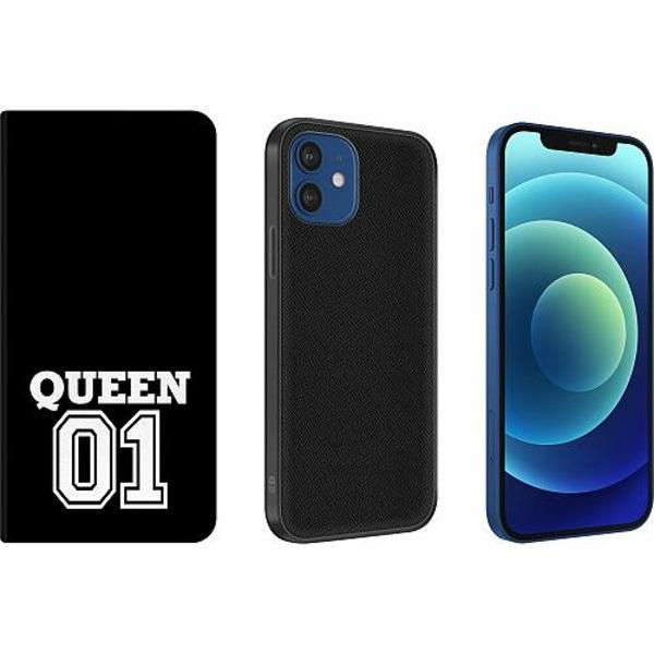 Apple iPhone 12 Magnetic Wallet Case Queen 01