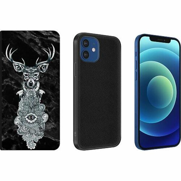Apple iPhone 12 Magnetic Wallet Case Ren