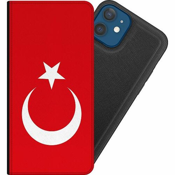 Apple iPhone 12 Magnetic Wallet Case Turkiet